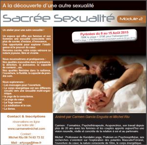 Sexualité alchimique module 2 : sacrée sexualité