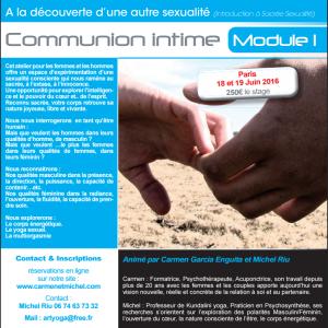 Sexualité alchimique module 1: Communion intime @ Paris | Montpellier | Languedoc-Roussillon | France