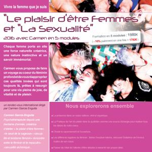 Le plaisir d'être Femmes et  La Sexualité :Module 3